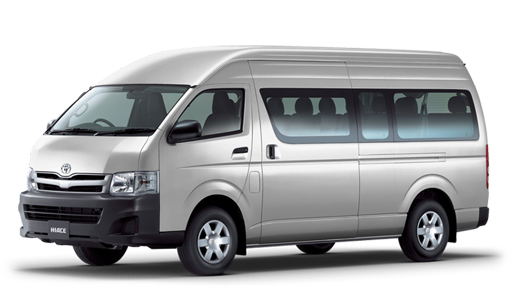 Book now Toyota Hiace
