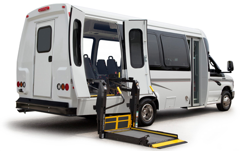 Book now Ford Econoline Wheelchair Accessibles