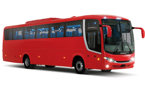 Book now Scania Bus 54 Passenger