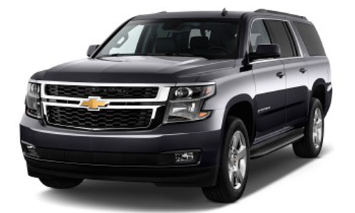 Book now Chevrolet Suburban Model 2013