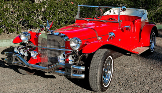 Book now Mercedes Benz Cabrio Mod. 1929